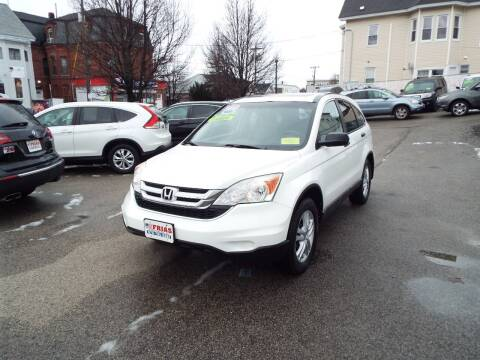 2010 Honda CR-V for sale at FRIAS AUTO SALES LLC in Lawrence MA