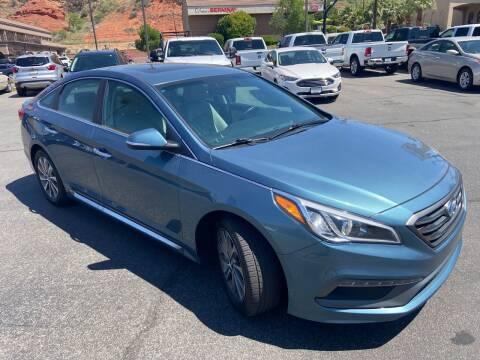 2017 Hyundai Sonata for sale at Boulevard Motors in Saint George UT