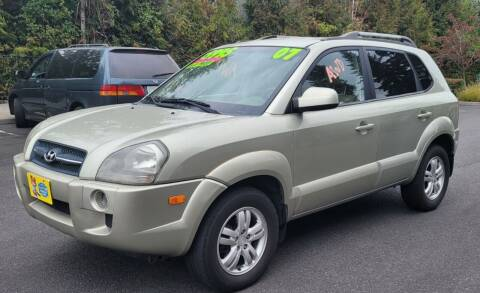 2007 Hyundai Tucson for sale at TOP Auto BROKERS LLC in Vancouver WA