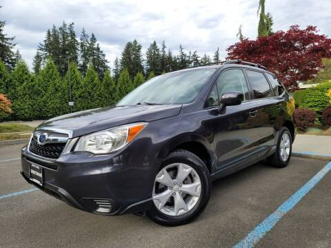 2014 Subaru Forester for sale at Silver Star Auto in Lynnwood WA
