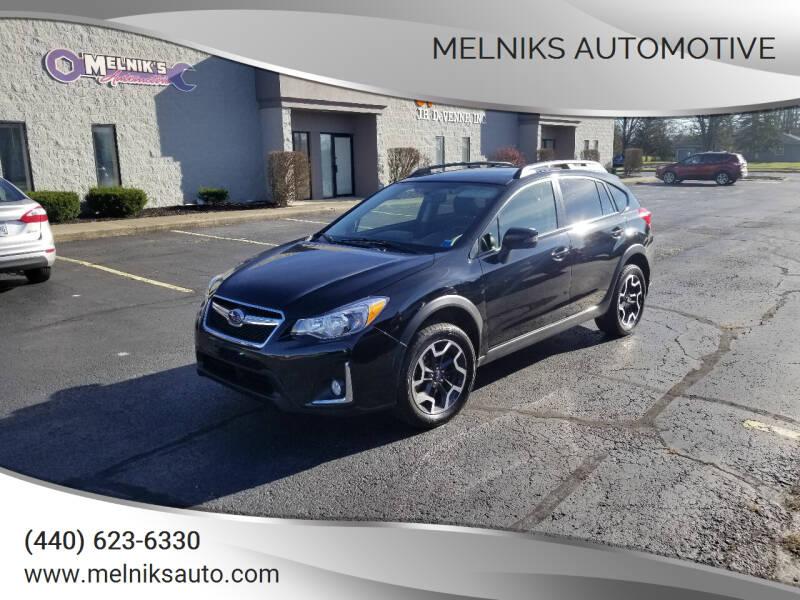 2017 Subaru Crosstrek for sale at Melniks Automotive in Berea OH