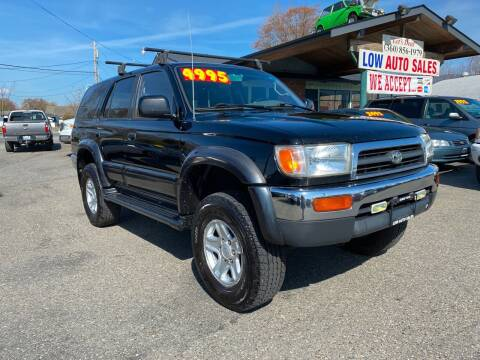 1997 Toyota 4Runner for sale at Low Auto Sales in Sedro Woolley WA