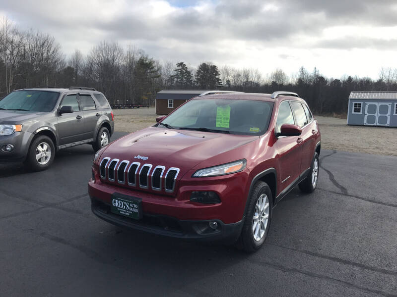 2017 Jeep Cherokee for sale at Greg's Auto Sales in Searsport ME