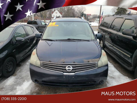 2008 Nissan Quest for sale at MAUS MOTORS in Hazel Crest IL