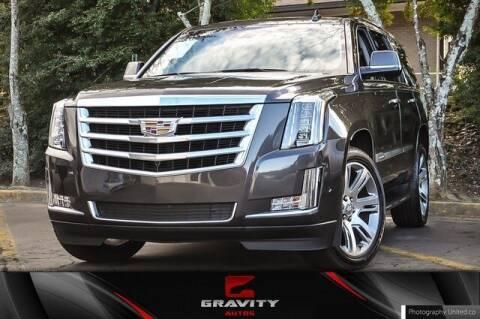 2017 Cadillac Escalade for sale at Gravity Autos Atlanta in Atlanta GA