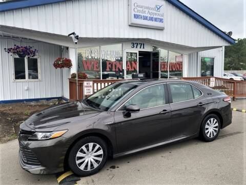 2018 Toyota Camry Hybrid for sale at North Oakland Motors in Waterford MI