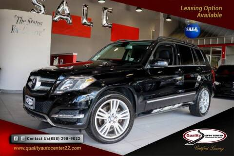 2015 Mercedes-Benz GLK for sale at Quality Auto Center of Springfield in Springfield NJ