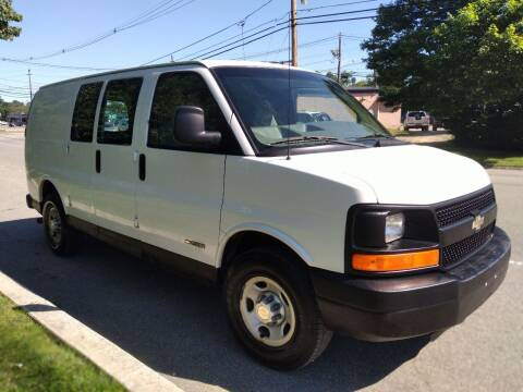 2003 Chevrolet Express Cargo for sale at Jan Auto Sales LLC in Parsippany NJ