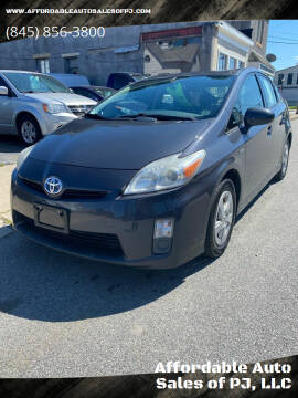 2011 Toyota Prius for sale at Affordable Auto Sales of PJ, LLC in Port Jervis NY