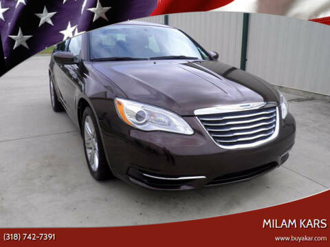 2013 Chrysler 200 for sale at MILAM KARS in Bossier City LA
