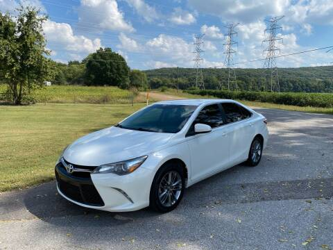 2017 Toyota Camry for sale at Tennessee Valley Wholesale Autos LLC in Huntsville AL