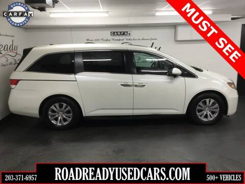 2014 Honda Odyssey for sale at Road Ready Used Cars in Ansonia CT