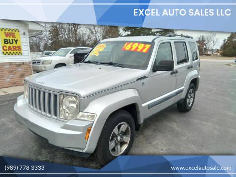 2008 Jeep Liberty for sale at Excel Auto Sales LLC in Kawkawlin MI