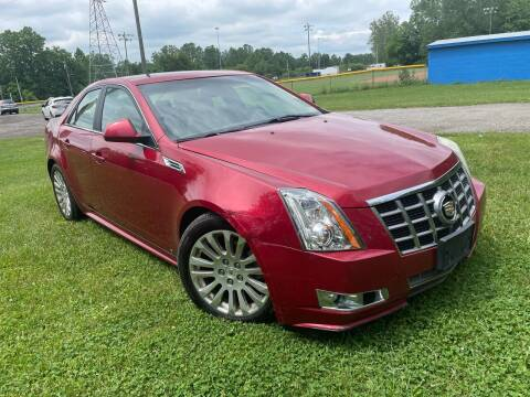 2010 Cadillac CTS for sale at Trocci's Auto Sales in West Pittsburg PA