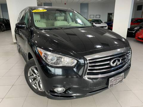 2013 Infiniti JX35 for sale at Auto Mall of Springfield in Springfield IL