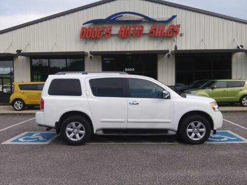 2011 Nissan Armada for sale at DOUG'S AUTO SALES INC in Pleasant View TN