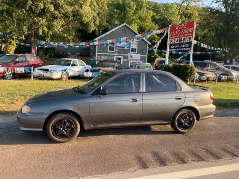 2001 Kia Sephia for sale at Korz Auto Farm in Kansas City KS