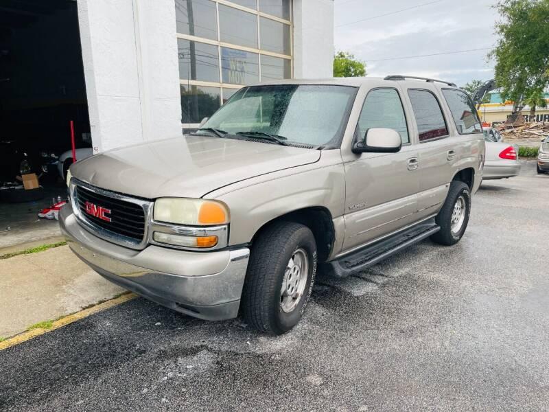 2003 GMC Yukon for sale at AUTO PLUG in Jacksonville FL