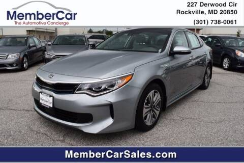 2017 Kia Optima Plug-In Hybrid for sale at MemberCar in Rockville MD