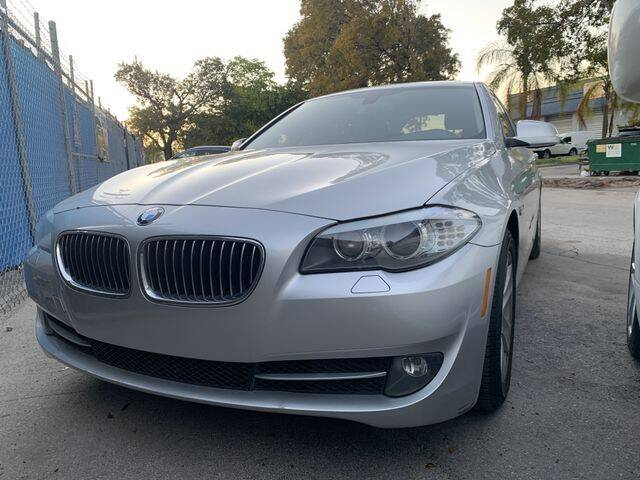 2013 BMW 5 Series for sale at Boss Automotive in Hollywood FL