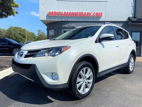 2013 Toyota RAV4 for sale at Heritage Automotive Sales in Columbus in Columbus IN
