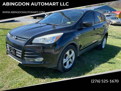 2014 Ford Escape for sale at ABINGDON AUTOMART LLC in Abingdon VA