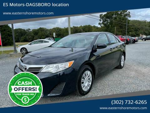 2014 Toyota Camry for sale at ES Motors-DAGSBORO location in Dagsboro DE