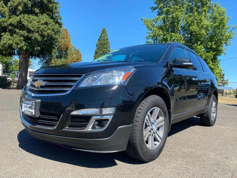 2017 Chevrolet Traverse for sale at Pacific Auto LLC in Woodburn OR