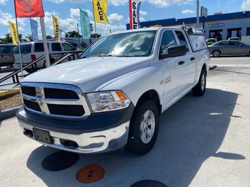 2015 RAM Ram Pickup 1500 for sale at Navarro Auto Motors in Hialeah FL
