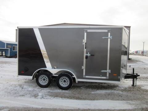 2021 MTI 7' x 14' for sale at Nore's Auto & Trailer Sales - Enclosed Trailers in Kenmare ND