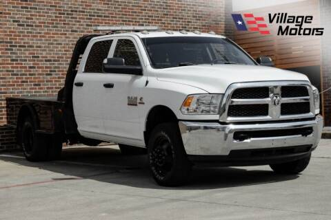2017 RAM Ram Chassis 3500 for sale at Village Motors in Lewisville TX