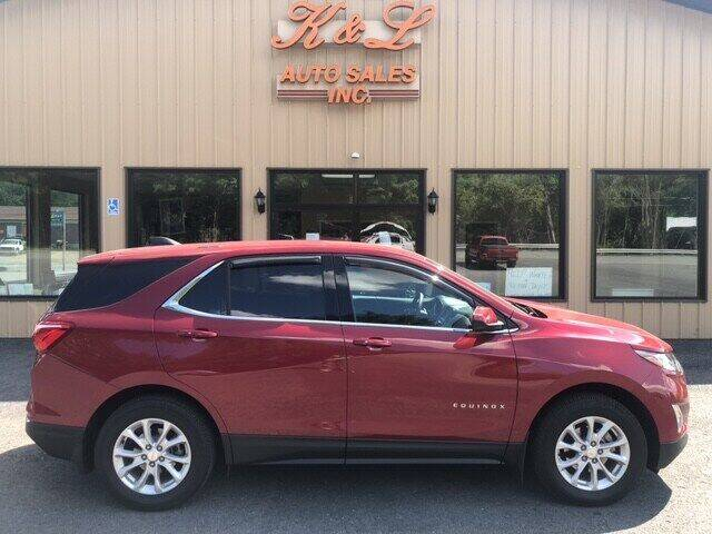 2018 Chevrolet Equinox for sale at K & L AUTO SALES, INC in Mill Hall PA