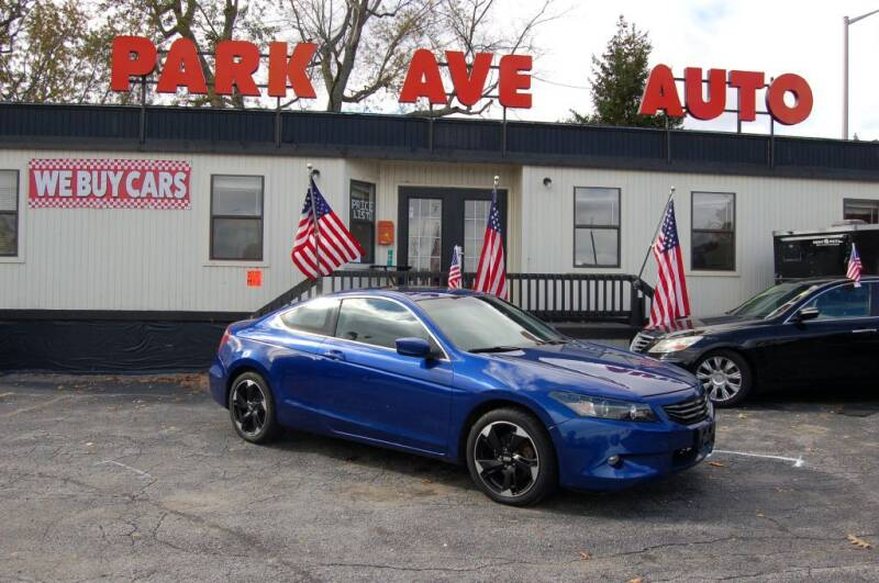 2008 Honda Accord for sale at Park Ave Auto Inc. in Worcester MA