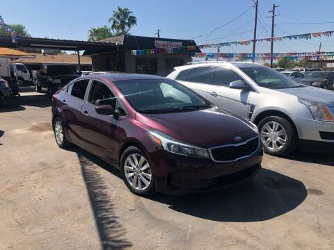 2017 Kia Forte for sale at Valley Auto Center in Phoenix AZ