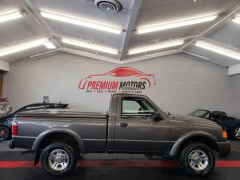 2004 Ford Ranger for sale at Premium Motors in Villa Park IL