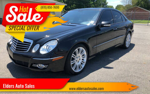 2008 Mercedes-Benz E-Class for sale at Elders Auto Sales in Pine Bluff AR