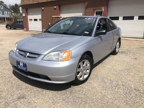 2003 Honda Civic for sale at Hornes Auto Sales LLC in Epping NH