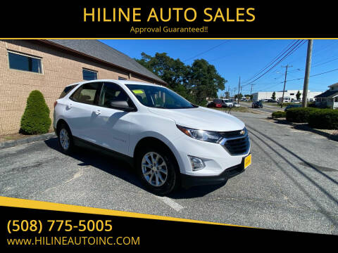 2019 Chevrolet Equinox for sale at HILINE AUTO SALES in Hyannis MA