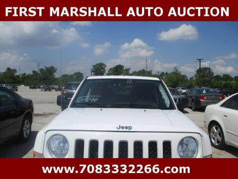 2012 Jeep Patriot for sale at First Marshall Auto Auction in Harvey IL