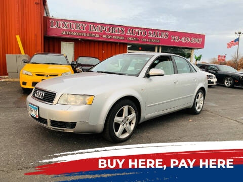 2004 Audi A4 for sale at LUXURY IMPORTS AUTO SALES INC in North Branch MN