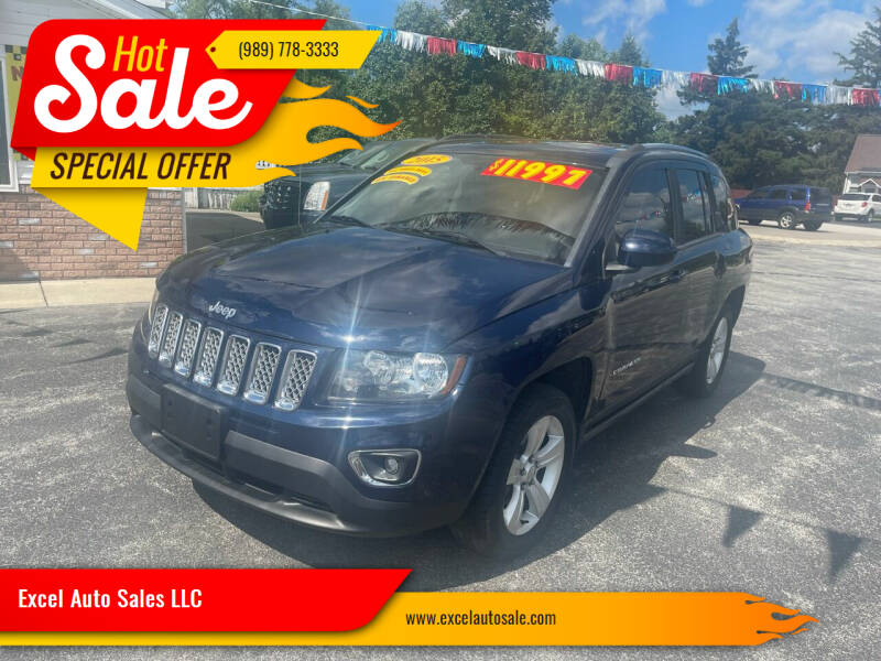 2015 Jeep Compass for sale at Excel Auto Sales LLC in Kawkawlin MI
