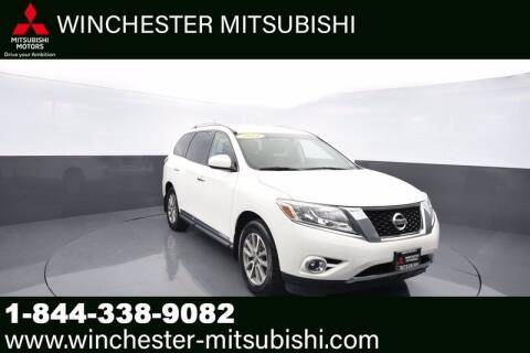 2014 Nissan Pathfinder for sale at Winchester Mitsubishi in Winchester VA