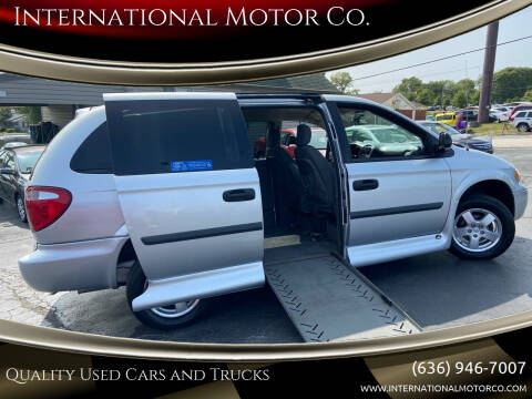 2007 Dodge Grand Caravan for sale at International Motor Co. in St. Charles MO