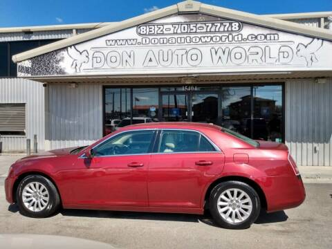 2014 Chrysler 300 for sale at Don Auto World in Houston TX