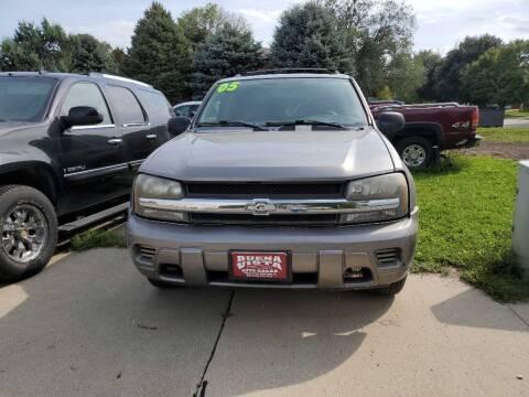 2005 Chevrolet TrailBlazer for sale at Buena Vista Auto Sales in Storm Lake IA