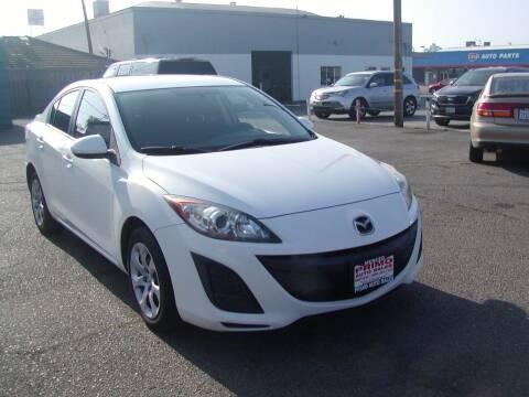 2011 Mazda MAZDA3 for sale at Primo Auto Sales in Merced CA