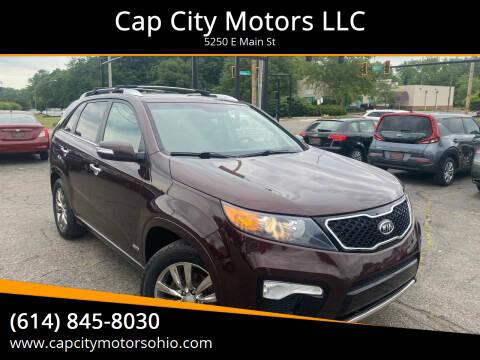 2013 Kia Sorento for sale at Cap City Motors LLC in Columbus OH