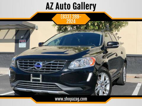2015 Volvo XC60 for sale at AZ Auto Gallery in Mesa AZ