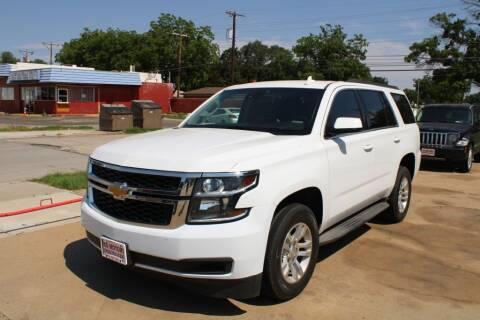 2015 Chevrolet Tahoe for sale at KD Motors in Lubbock TX