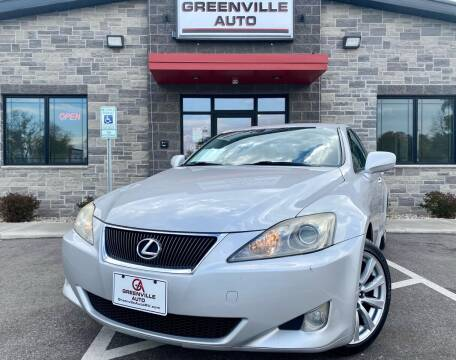 2007 Lexus IS 250 for sale at GREENVILLE AUTO in Greenville WI